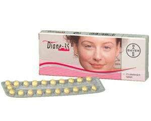 Boite de pilule Diane 35